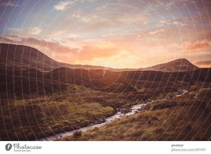 [250] Loch Skeen Himmel Natur Ferien & Urlaub & Reisen Pflanze Sommer Sonne Landschaft Wolken Berge u. Gebirge Umwelt Gefühle Küste Freiheit außergewöhnlich gehen Wetter