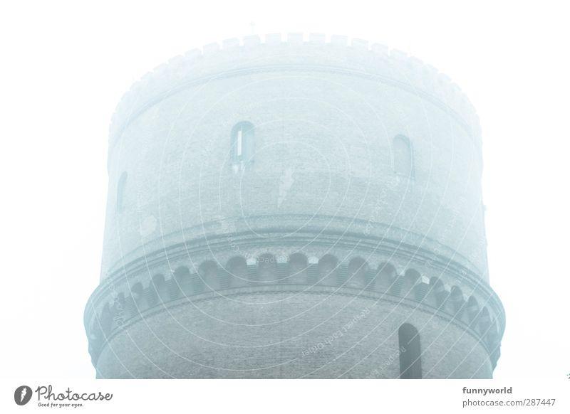 Wassertröpfchenturm alt Stadt weiß Einsamkeit Wand kalt oben grau Architektur Mauer Traurigkeit braun hoch Turm bedrohlich historisch