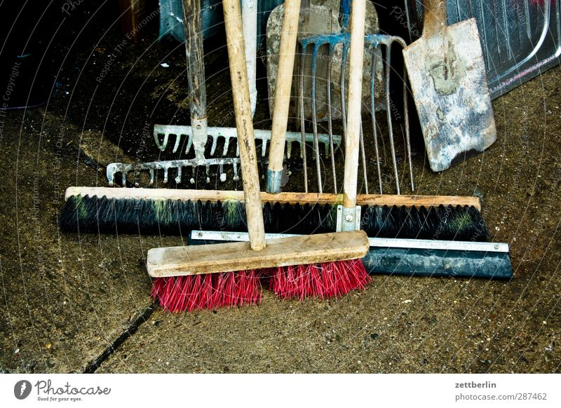 Besen und so Business Zusammensein Arbeit & Erwerbstätigkeit Häusliches Leben Reinigen Baustelle Beruf Dienstleistungsgewerbe Handwerk Lager Handwerker