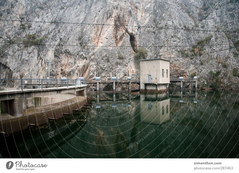 Wasserenergie Technik & Technologie Wissenschaften Erneuerbare Energie Wasserkraftwerk Industrie skopje mazedonien Energiewirtschaft energiegeladen Energiekrise