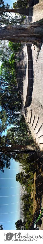 BuenaVistaPark SFO Panorama (Aussicht) Ferien & Urlaub & Reisen San Francisco Ferne Außenaufnahme panorama buena vista park san francisco USA asbury haights