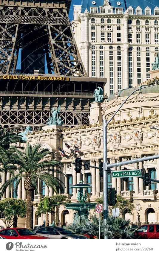 Vegas Atmosphere Hotel Paris Amerika Striptease Nordamerika Las Vegas