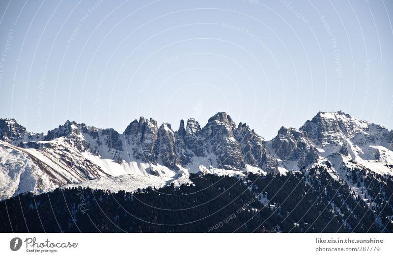 jetz aber zackig! Natur Ferien & Urlaub & Reisen Landschaft Ferne Winter Berge u. Gebirge kalt Umwelt Schnee Tourismus Wetter Ausflug Klima Schönes Wetter