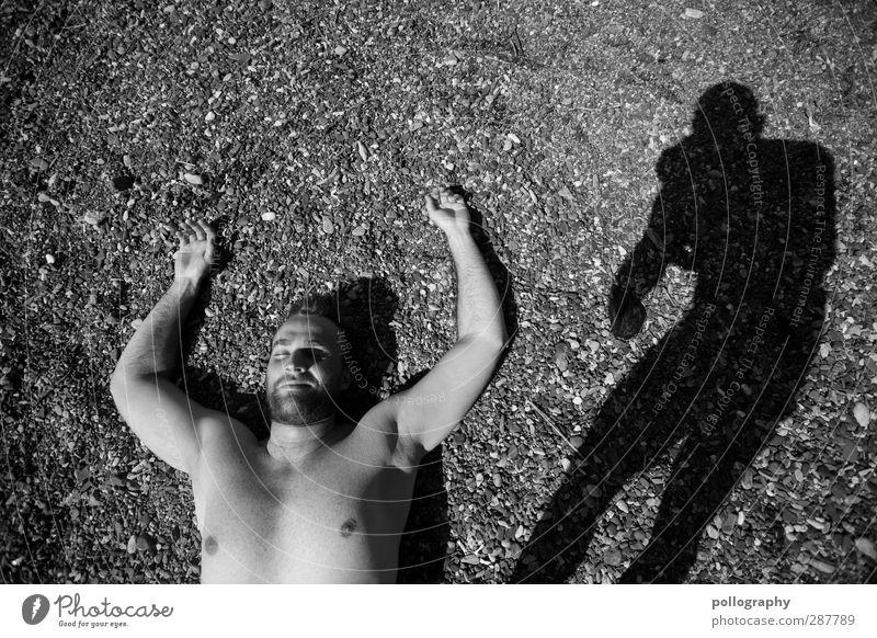 Paparazzi Ferien & Urlaub & Reisen Ausflug Sommerurlaub Sonnenbad Strand Mensch maskulin Junger Mann Jugendliche Erwachsene Leben Körper 1 2 18-30 Jahre Natur