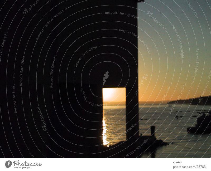 Sonnenhaus Haus Tür Insel Kroatien Sommerurlaub