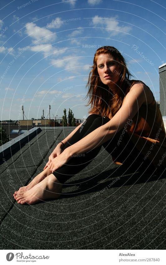 jetzt noch besser als je zuvor! Jugendliche blau schön Erwachsene Junge Frau Erotik 18-30 Jahre Beine Fuß Stimmung natürlich außergewöhnlich Körper rosa Kraft