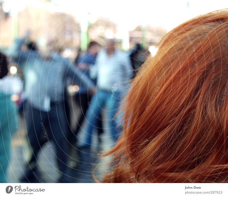 Spectator Freude Haare & Frisuren Kopf Menschengruppe Zusammensein Tanzen Zufriedenheit Politische Bewegungen beobachten Publikum rothaarig Entertainment