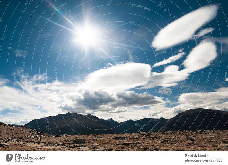 High Altitude Umwelt Natur Landschaft Klima Klimawandel Wetter Schönes Wetter Abenteuer Einsamkeit einzigartig entdecken Farbfoto Außenaufnahme Tag Sonnenlicht