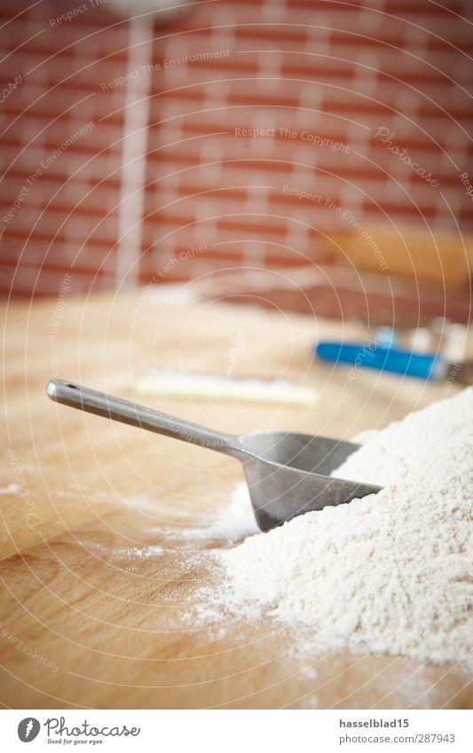 Backen Zutaten2 Erholung Freude Gefühle Essen Lebensmittel Stimmung Arbeit & Erwerbstätigkeit Ernährung Tisch Küche Bioprodukte Duft Ei Brot Dessert