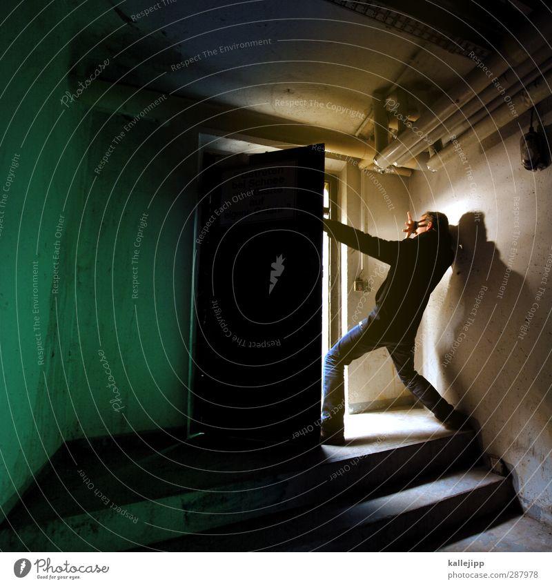 wichtelpopichtel für inkje   erst eins ... Mensch Erwachsene Religion & Glaube Körper Tür maskulin Treppe leuchten Engel Neugier Schutz Futurismus Tor Röhren