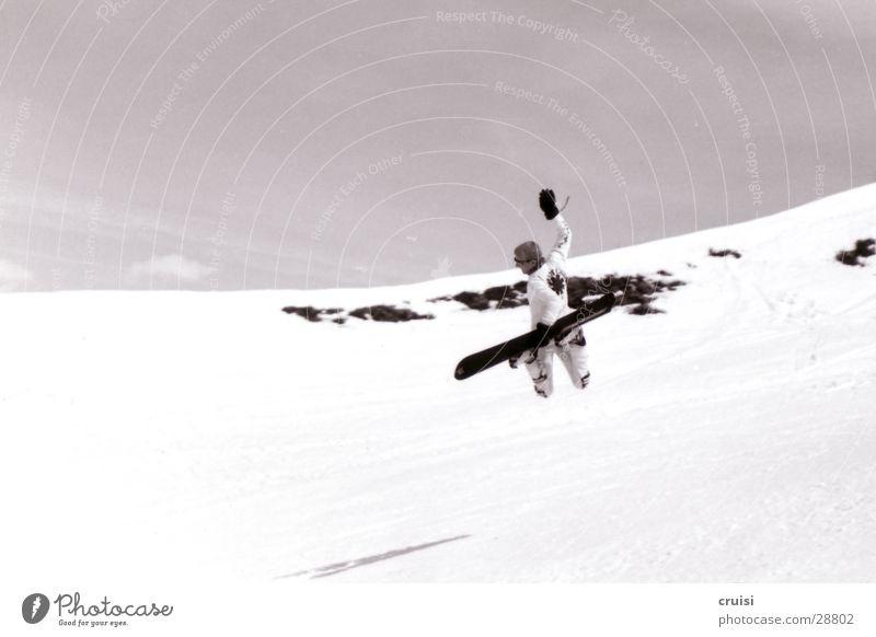 Backside Air Sport springen hoch Fitness Österreich Schneelandschaft Snowboard Winterurlaub talentiert Trick Bundesland Tirol Skipiste Snowboarding Osttirol