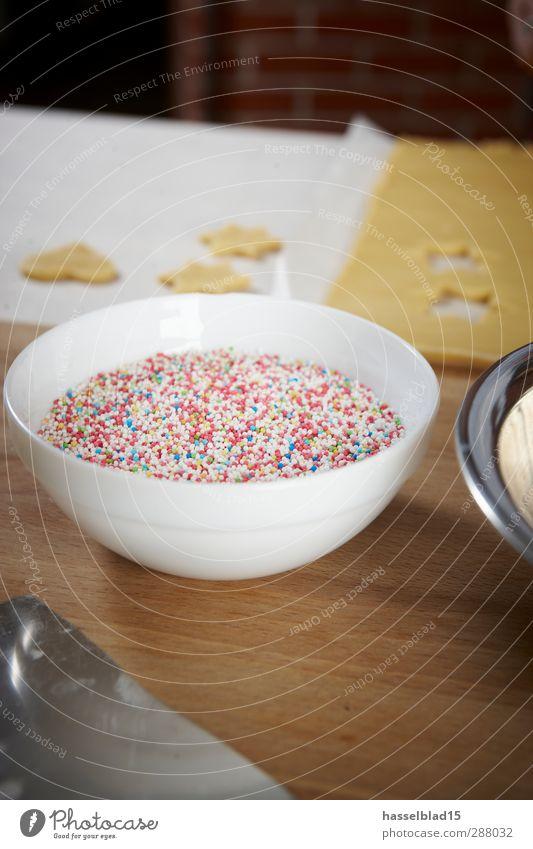 Backen Zutaten bunte Streusel Lebensmittel Getreide Teigwaren Backwaren Süßwaren Schokolade Ernährung Bioprodukte Schalen & Schüsseln Messer Reichtum Freude