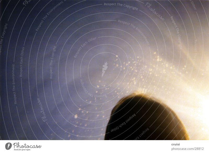 Wasserkopf Wasseroberfläche tauchen Schnorcheln Meer Reflexion & Spiegelung Sonnenstrahlen nass Luftblase