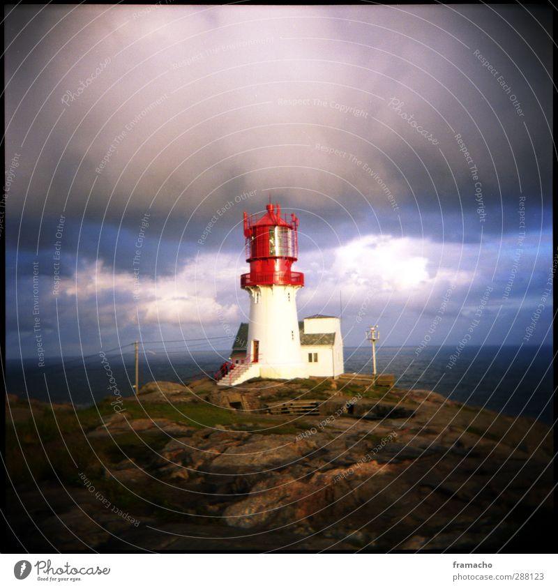 LT Himmel Ferien & Urlaub & Reisen Wasser rot Meer Wolken Landschaft Erholung Umwelt Küste hell Zufriedenheit wandern Tourismus Insel leuchten
