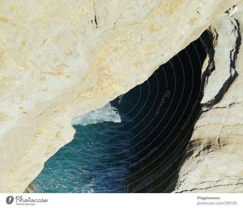 Meerenge Natur Ferien & Urlaub & Reisen Wasser Sommer Pflanze Sonne Strand Tier Landschaft Ferne Umwelt Freiheit Küste Wetter Klima
