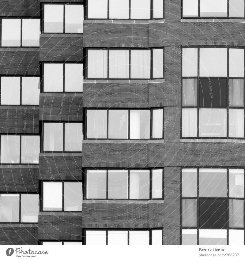 Wie die anderen Stadt Wand Mauer Freiheit Fassade modern Hochhaus Abenteuer einzigartig Netzwerk Kreativität USA Skyline entdecken Mobilität Kapitalwirtschaft