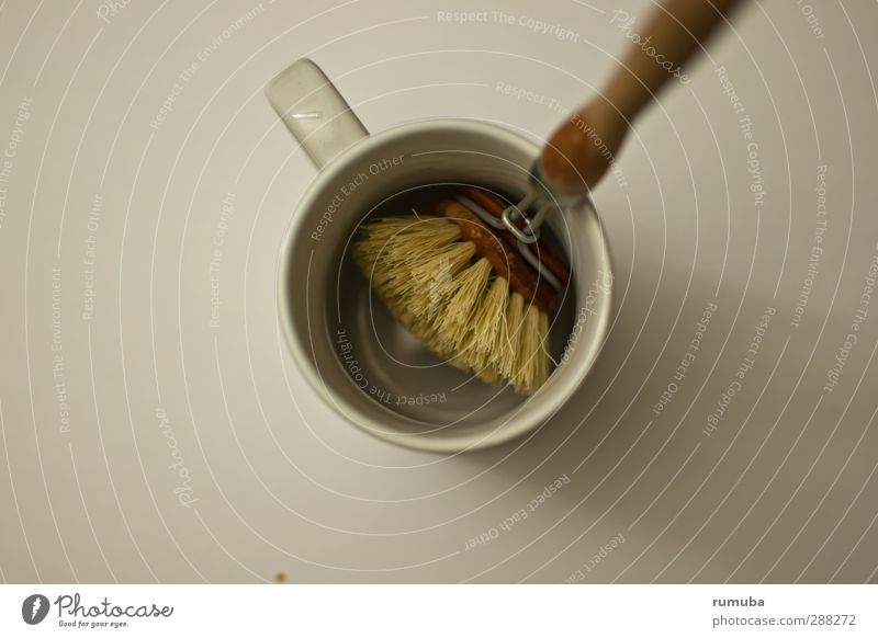 wat mut dat mut Wohnung Reinigen Sauberkeit Küche Geschirr Becher Bürste Geschirrspülen spülen