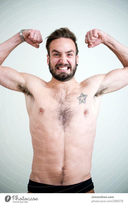 Kraftpaket Mensch Jugendliche nackt 18-30 Jahre Gesunde Ernährung Erwachsene feminin Sport Körper Erfolg Energie Studium Lebensfreude Fitness Macht