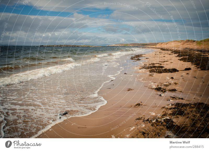 Red Point Beach Natur Ferien & Urlaub & Reisen Wasser Sommer Meer ruhig Landschaft Strand Ferne Küste Freiheit Wellen Europa Ausflug Atlantik Schottland