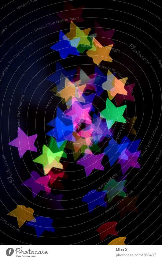 Sternenhaufen Weihnachten & Advent Baum Beleuchtung leuchten Stern (Symbol) Weihnachtsbaum Lichterkette Baumschmuck Weihnachtsbeleuchtung