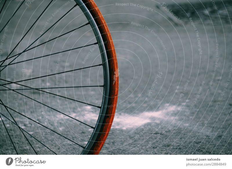 alt Straße Sport Freizeit & Hobby Metall Verkehr Fahrrad Fahrradfahren Objektfotografie Wagenräder Fahrradlenker Autositz Zyklus