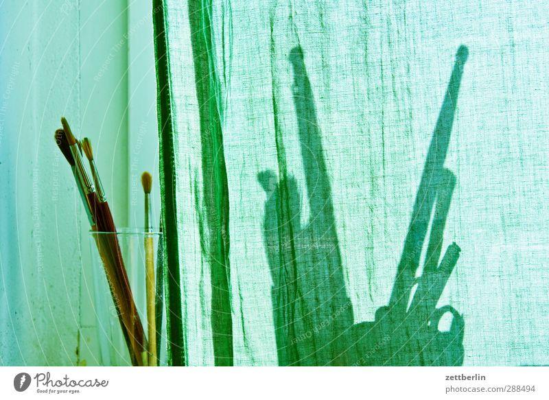 Fensterbrett Kunst Arbeit & Erwerbstätigkeit Raum Wohnung Glas Freizeit & Hobby Design Lifestyle Häusliches Leben einzigartig Kreativität Dienstleistungsgewerbe
