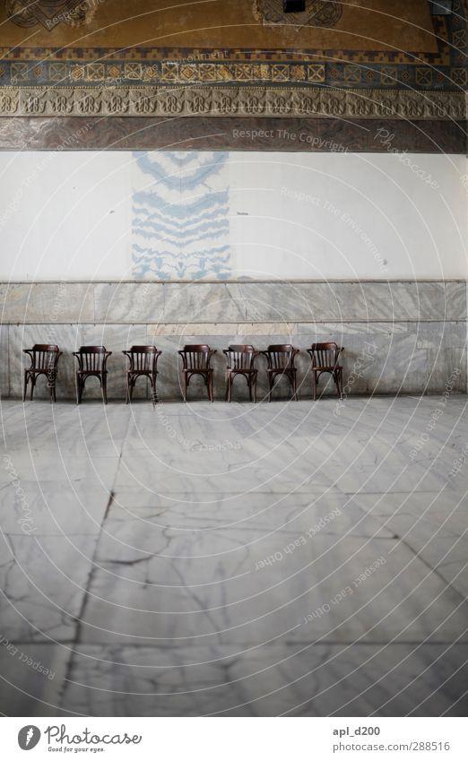 Wartezimmer Ferien & Urlaub & Reisen alt Haus grau Stein Kraft elegant warten Tourismus Kirche ästhetisch Stuhl Kot Sehenswürdigkeit Istanbul Marmor