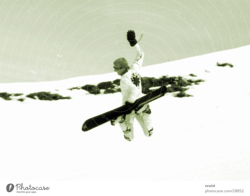 Backside Air springen Winter Snowboard Ferien & Urlaub & Reisen Winterurlaub Sport Schnee Raceboard Freude Skipiste Snowboarder Snowboarding Körperhaltung