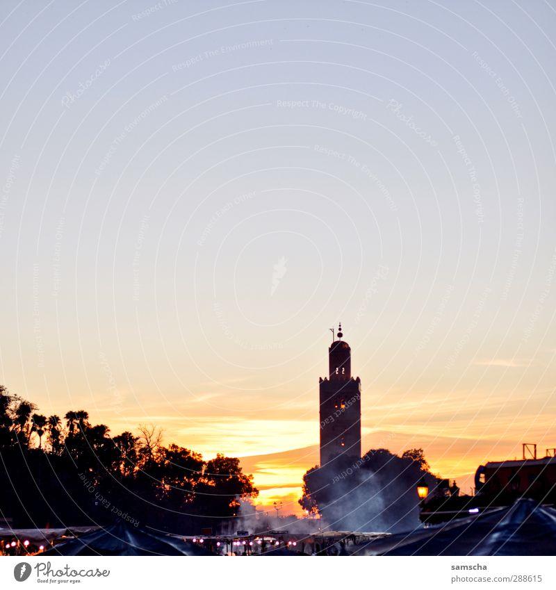 Abendland Himmel Natur schön Stadt Umwelt dunkel Luft Wetter Platz Schönes Wetter Turm Abenddämmerung Duft Stadtzentrum exotisch Hauptstadt