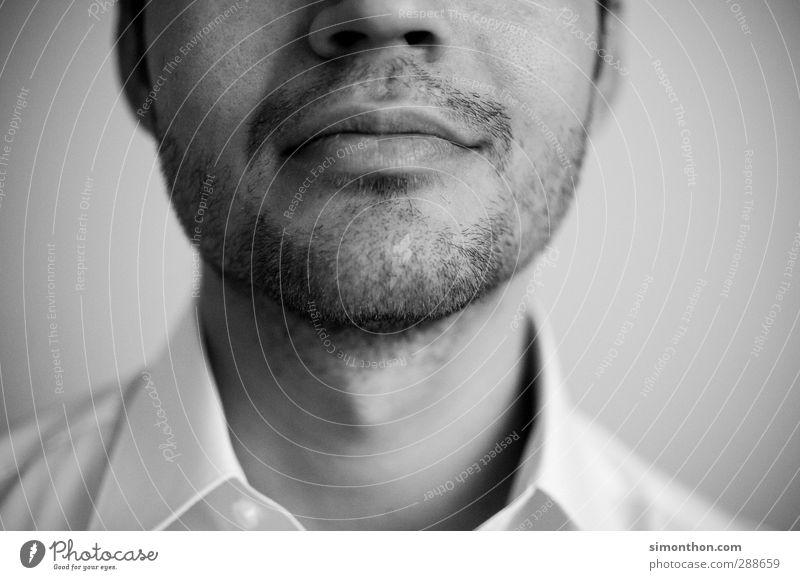 Mund Mann Jugendliche schön ruhig Gesicht Erwachsene lachen Haare & Frisuren 18-30 Jahre Business Haut maskulin Mund Nase Studium Europäer