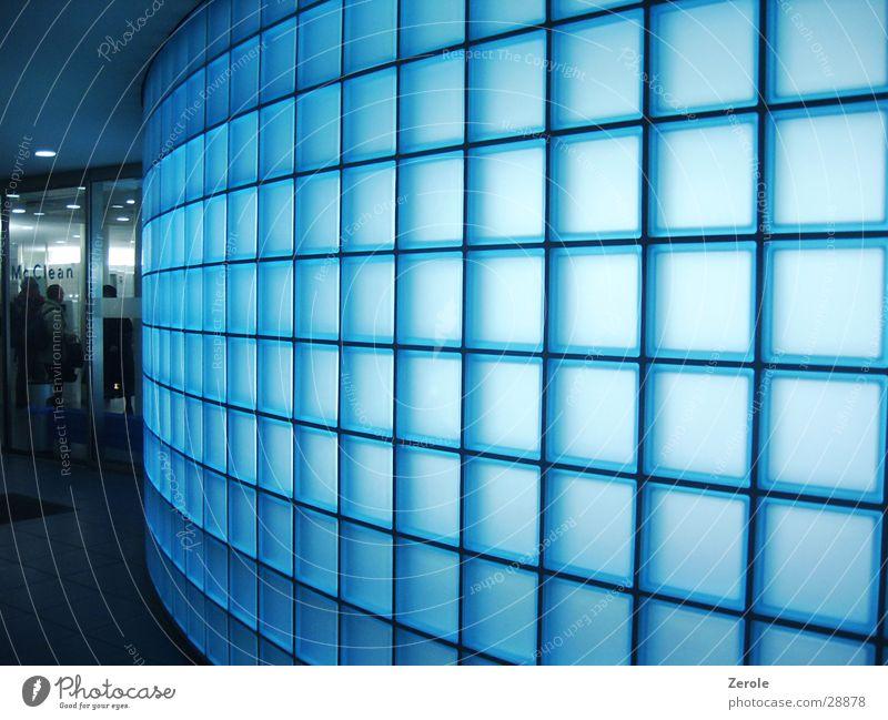 Mc Clean blau kalt Sauberkeit Toilette Dinge Glasbaustein
