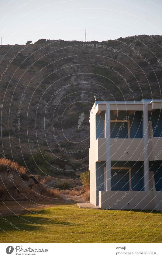 greek Natur Landschaft Haus Umwelt Wiese Wärme natürlich Hügel