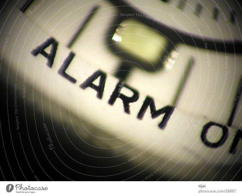 alarm Alarm Uhr Unschärfe Keramik Makroaufnahme Nahaufnahme Detailaufnahme