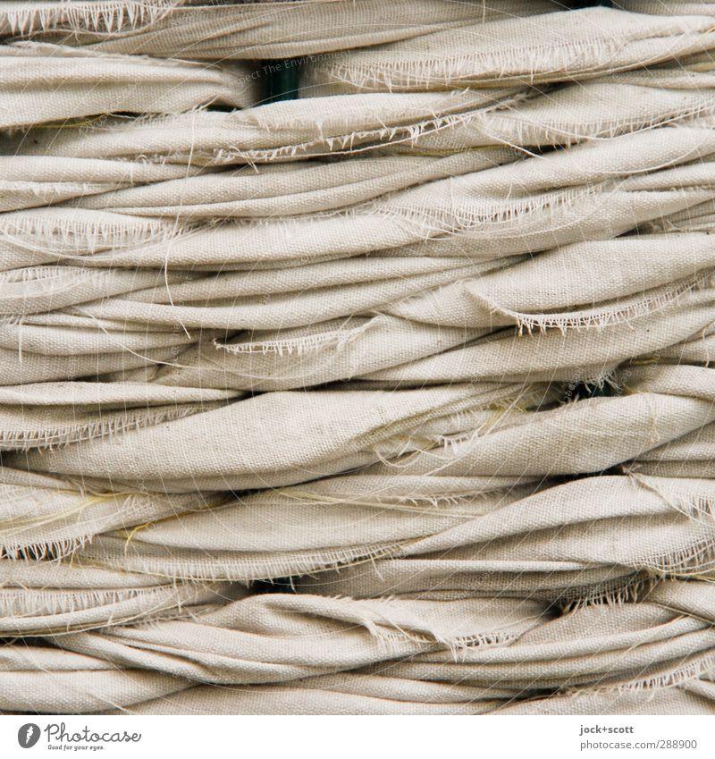 Flechtwerk im Quadrat Stil Freizeit & Hobby Handarbeit binden Dekoration & Verzierung Streifen Netzwerk authentisch dünn einfach braun Stimmung beweglich