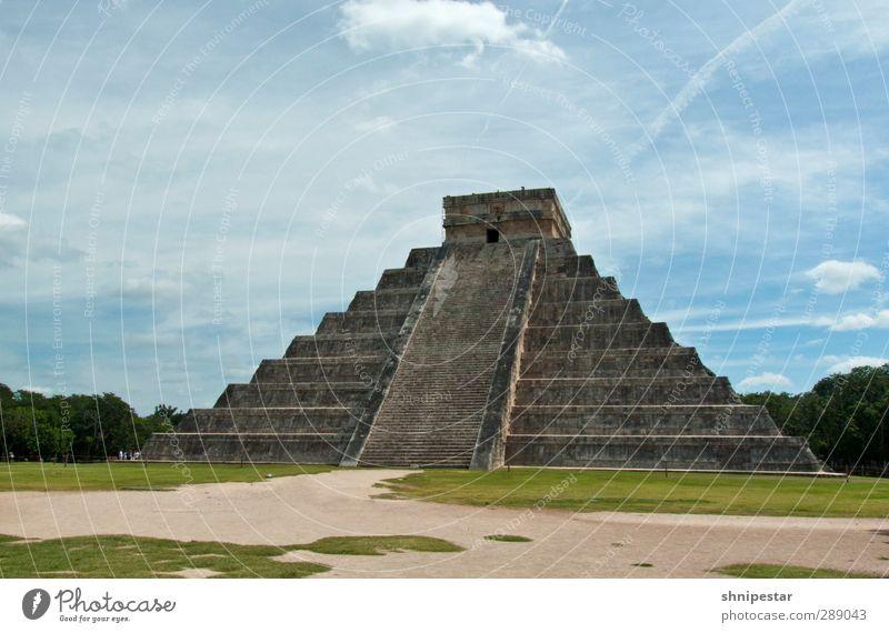 Chichén Itzá, Yucatán, Mexico Natur Ferien & Urlaub & Reisen Sommer Baum Sonne Erholung Ferne außergewöhnlich Klima authentisch Tourismus Schönes Wetter Ausflug