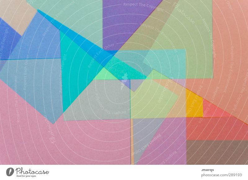 Tone Lifestyle elegant Stil Design Kunst Papier außergewöhnlich trendy einzigartig modern verrückt mehrfarbig chaotisch Farbe Perspektive Hintergrundbild