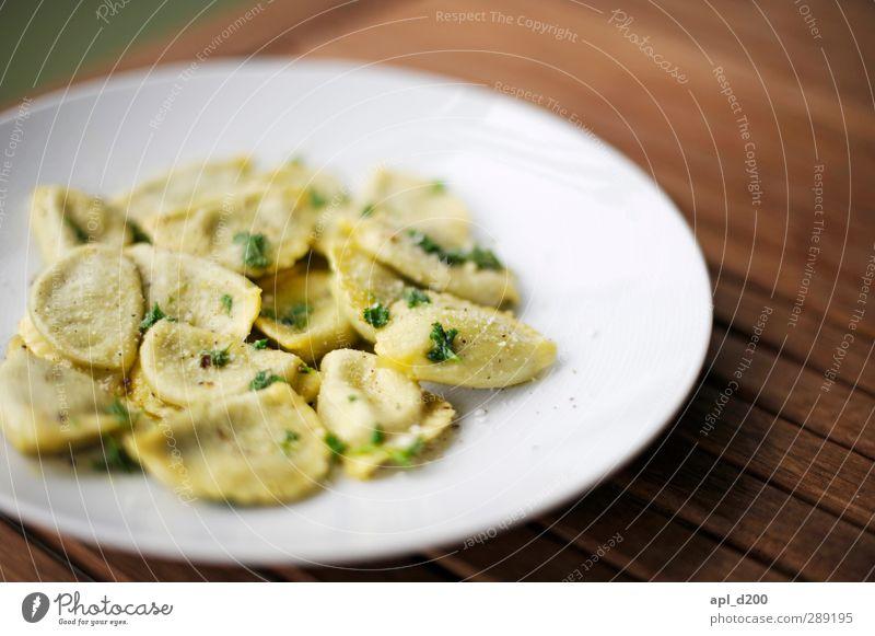 Ja Freude Haus gelb braun Lebensmittel stehen Häusliches Leben Ernährung Tisch ästhetisch Kräuter & Gewürze Appetit & Hunger Duft Teller Backwaren Mittagessen