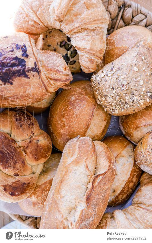 #S# Guter Start Lebensmittel Brötchen Croissant Bioprodukte Glück Frühstück Frühstückstisch Zusammensein viele Reichtum Zufriedenheit Backwaren selbstgemacht