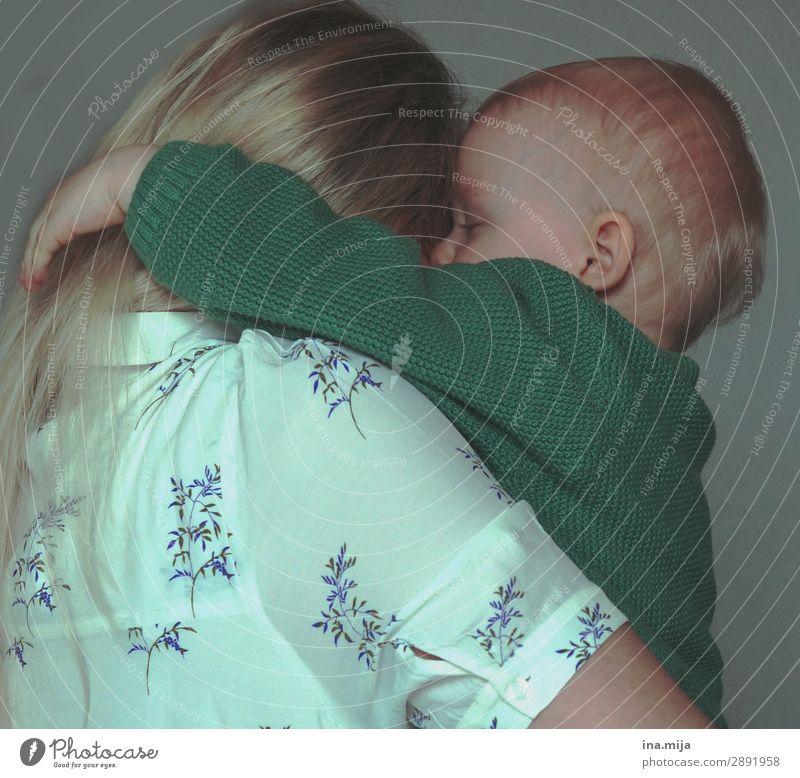 Liebe! Kindererziehung Bildung Kindergarten Mensch Kleinkind Eltern Erwachsene Mutter Familie & Verwandtschaft Kindheit Leben 2 blond Kommunizieren