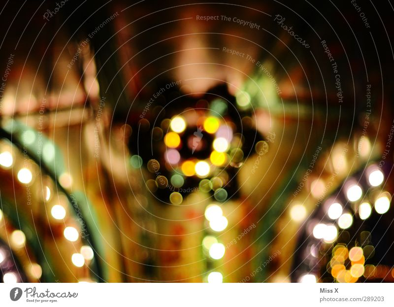 -chon Weihnachten & Advent Jahrmarkt leuchten mehrfarbig Weihnachtsmarkt Lichterkette Beleuchtung Weihnachtsdekoration Stern (Symbol) Farbfoto Muster