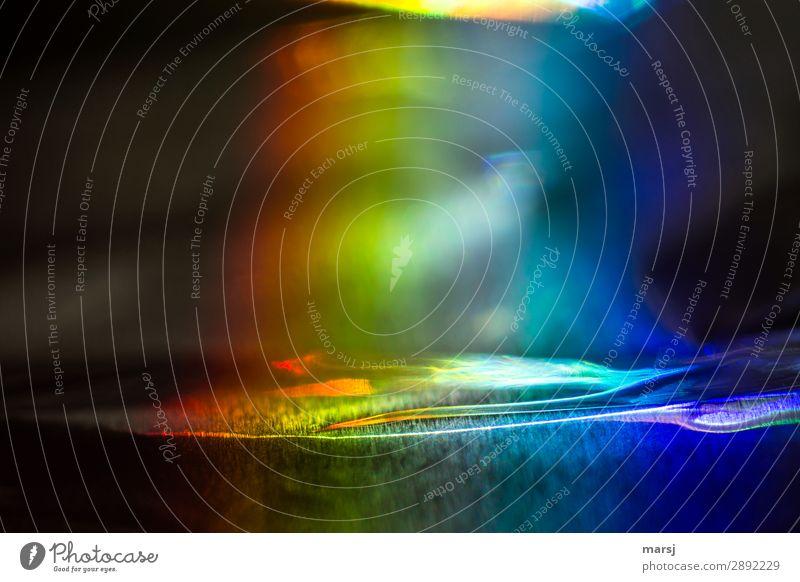 Buntes dunkel außergewöhnlich verrückt skurril wellig eigenwillig regenbogenfarben