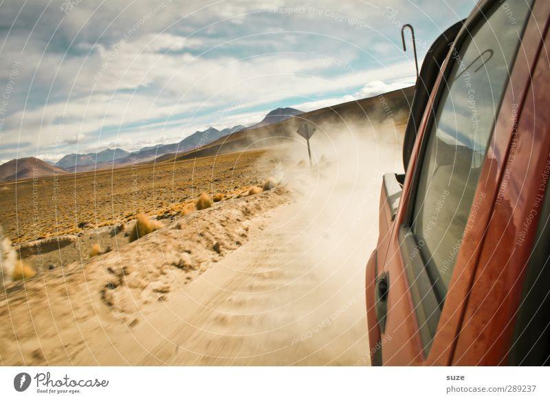 4x4 Power Lifestyle Ferien & Urlaub & Reisen Tourismus Umwelt Natur Landschaft Himmel Wolken Horizont Wüste Verkehr Verkehrsmittel Verkehrswege Autofahren