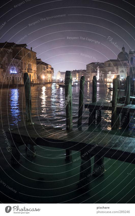 Venedig Wasser Stadt Gebäude Fluss Italien Sehnsucht Steg Sehenswürdigkeit Fernweh Dom Altstadt Canal Grande