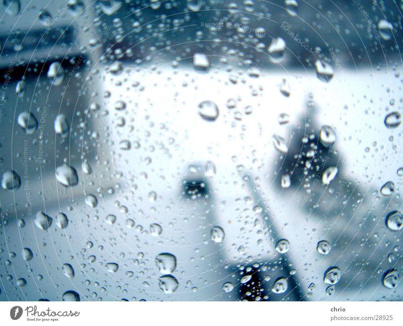 mistwetter?! Wasser Fenster Regen Glas Wassertropfen