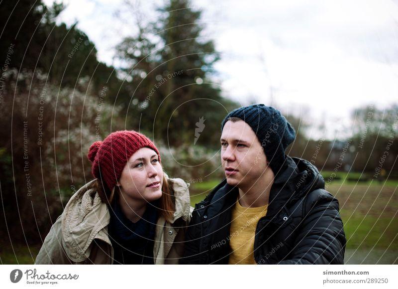 Freizeit Mensch Jugendliche Ferien & Urlaub & Reisen Junge Frau Erwachsene Junger Mann 18-30 Jahre Liebe Leben sprechen Glück Paar Freundschaft