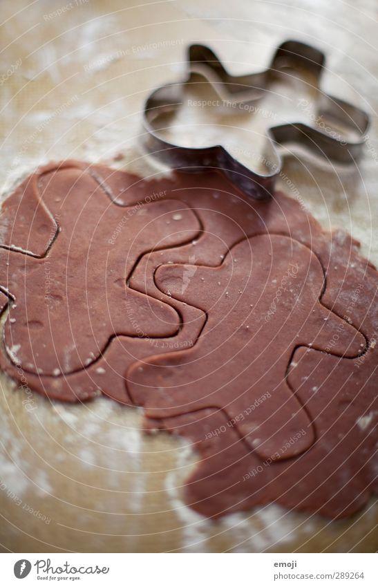 das erste unszenierte making of Lebensmittel Teigwaren Backwaren Dessert Keks Ernährung lecker süß Strukturen & Formen Weihnachten & Advent Farbfoto