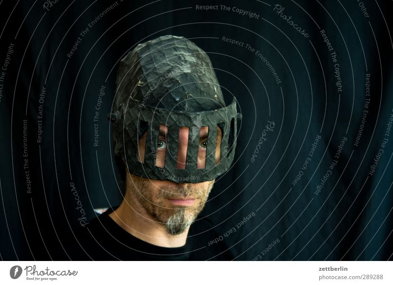 Weltuntergang Mensch Mann Gesicht Erwachsene Berlin Mode Kopf maskulin 45-60 Jahre Bekleidung Schutz Neugier Hoffnung Sicherheit trendy Bart