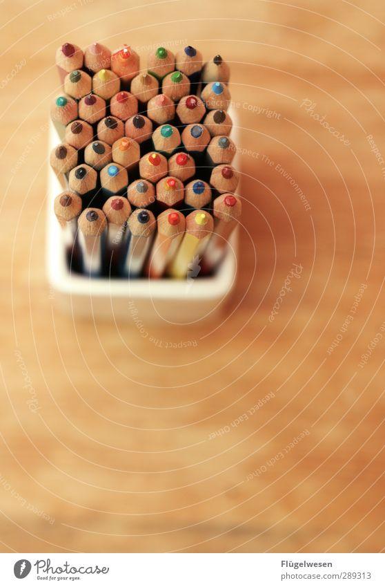 Mal wieder malen Farbe Spielen Farbstoff Kunst Freizeit & Hobby Lifestyle Kreativität streichen zeichnen Schminke Werkzeug Schreibstift Künstler Anstreicher