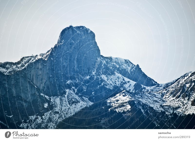 Stockhorn Schnee Berge u. Gebirge wandern Umwelt Natur Landschaft Urelemente Himmel Klima Klimawandel Felsen Alpen Gipfel Schneebedeckte Gipfel alt bedrohlich