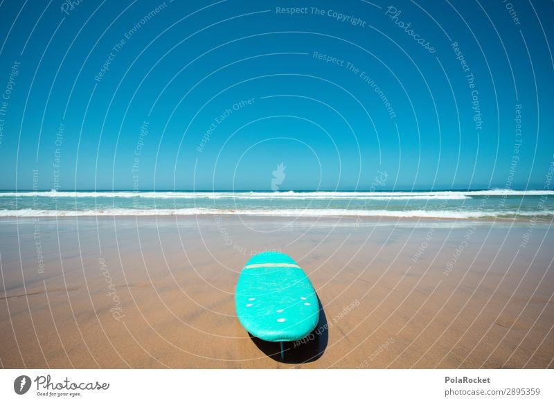 #A# good day Kunst Kunstwerk ästhetisch Surfen Surfer Surfbrett Surfschule Meer Strand Küste Urlaubsfoto Farbfoto mehrfarbig Außenaufnahme Detailaufnahme